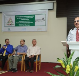 Average heights of KIU students not compatible with global standards due to chronic malnutrition: VC