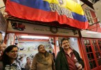 Rafael Maria Merchán Álvarez, Colombian Cónsul General in London Visit to Latin American market at Seven Sisters 25th November 2016