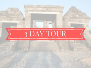 3 days tour jogja