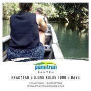 3D2N Krakatau Ujung Kulon Tour