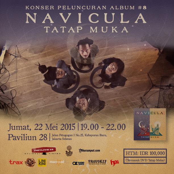NVCL - Tatap Muka Concert Poster Square
