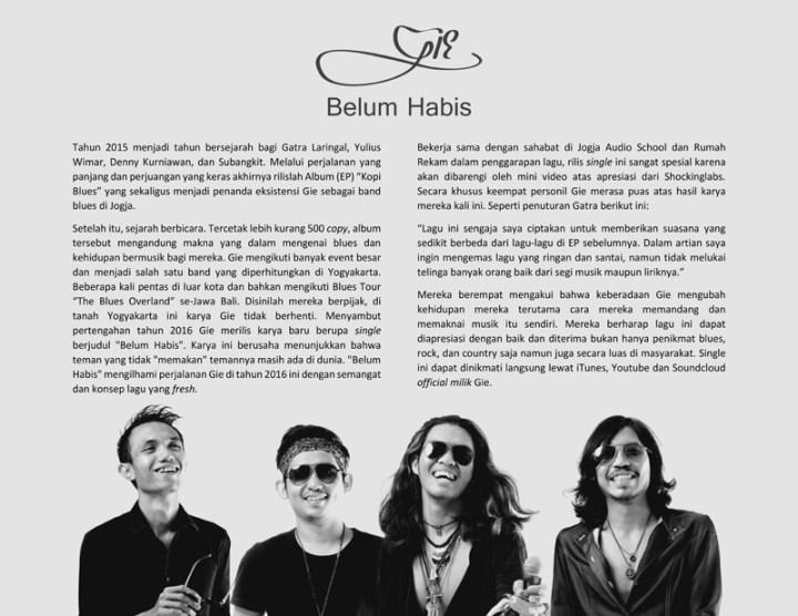 Gie Belum Habis Press Release
