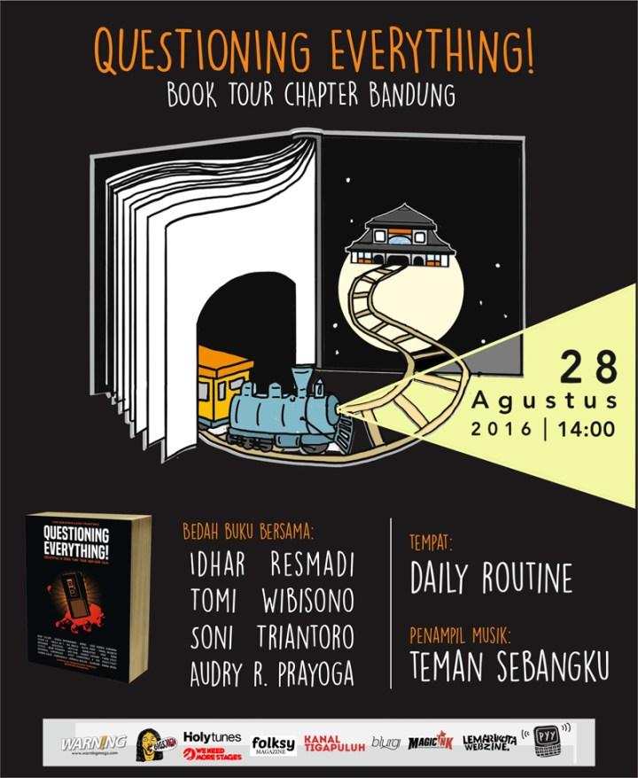 QE Book Tour Bandung