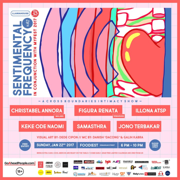 Poster Sentimental Frequency Vol 2