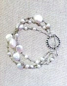 My signature pearl bracelet goes with me everywhere!