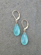Elegant Chalcedony Pear Shape by Pam Older Designs