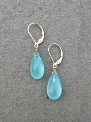 Elegant Chalcedony Pear Shape by Pam Older Designs