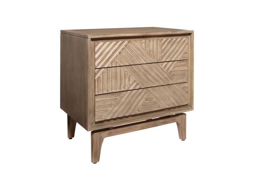 Vanowen 3-drawer Nightstand