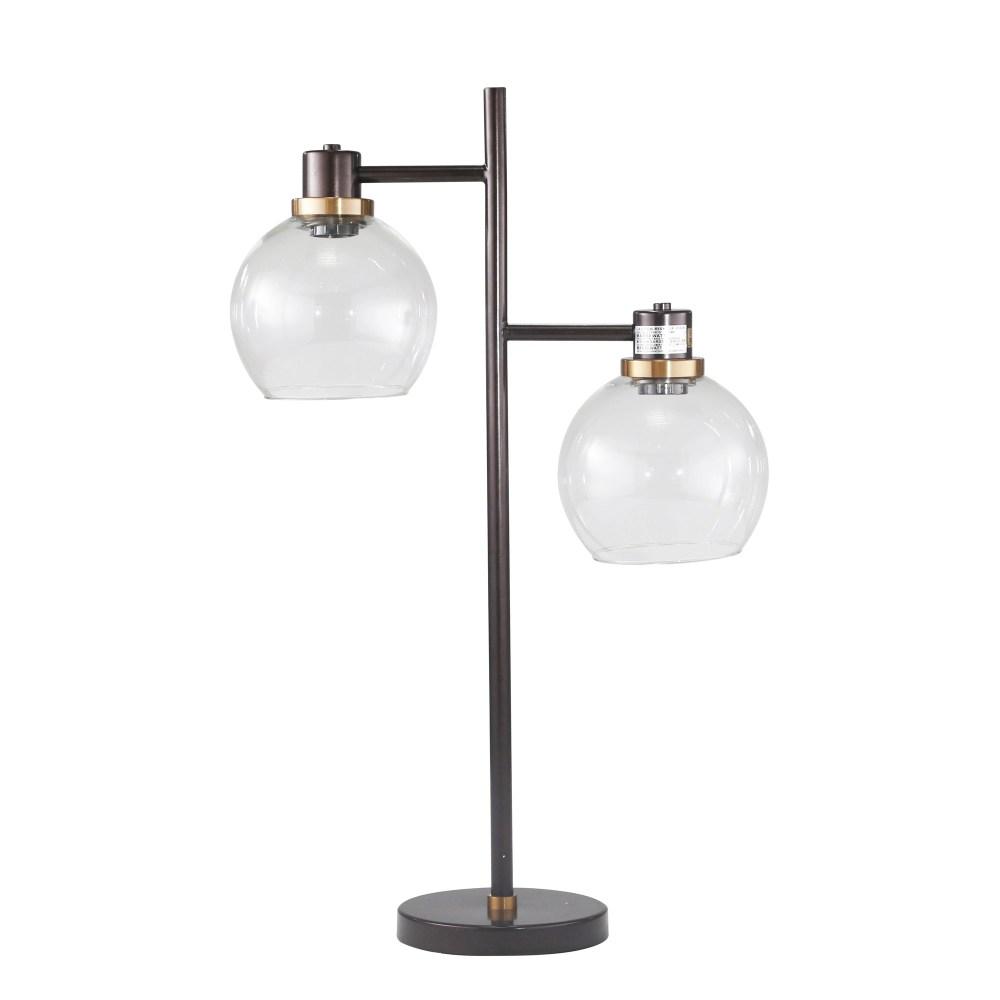 Belfast Two-Light Table Lamp (Bronze)