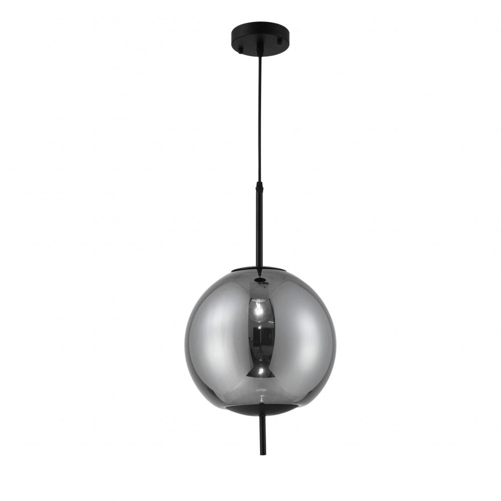 Soma Pendant Lamp 1-Light With Smoke Glass