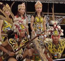 Humble Of Dayak People - East Kalimantan