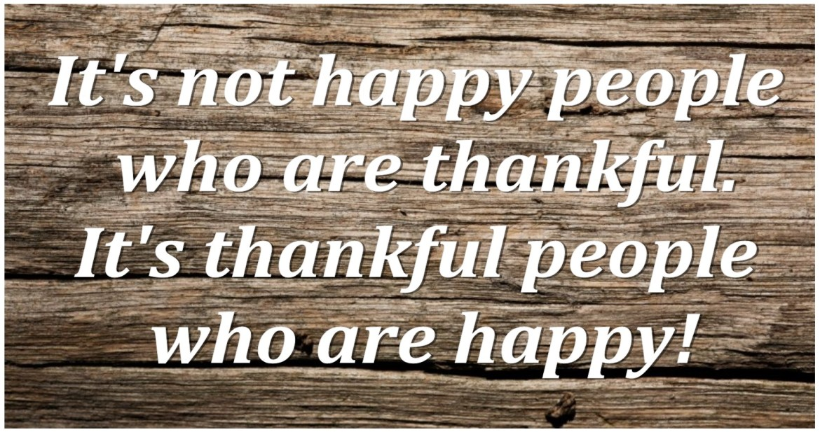 grateful people are happy-people