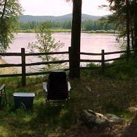Edgewater Campground, near Ione, WA