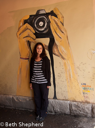 Beth in Yerevan