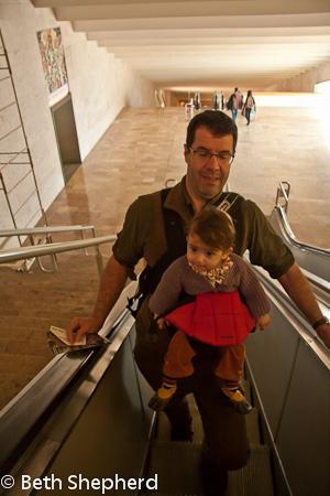 Going up the Cascades escalator