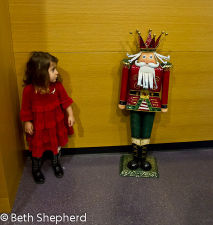 Nutcracker and little one 1