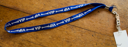 Space Needle VIP lanyard