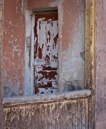 Gyumri old wood home
