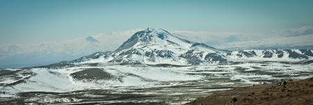 The mountain Aragats Armenia