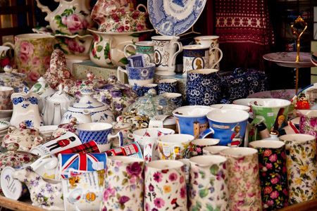 British teacups