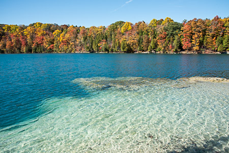 Autumn at Green Lake State Park