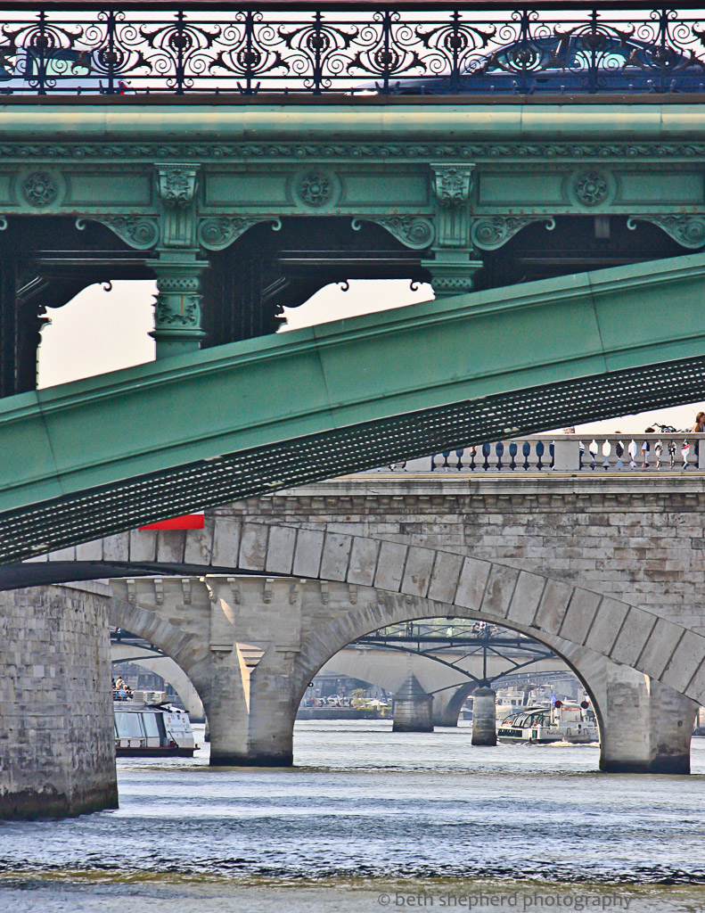 Bridges of the Seine River