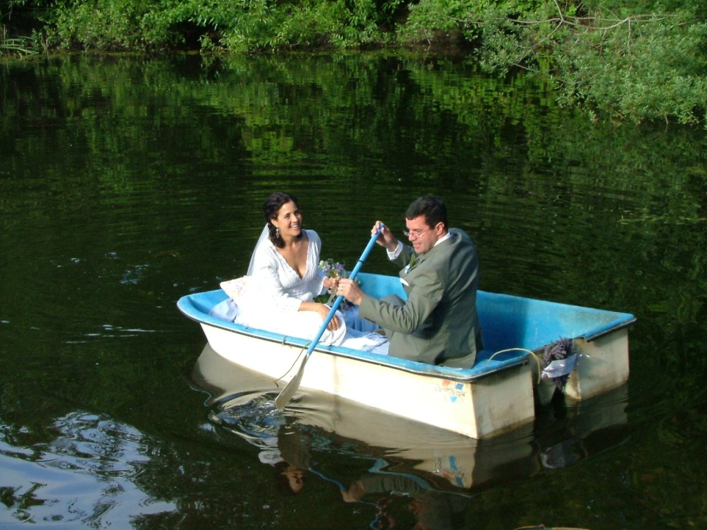 A wedding boat with a story