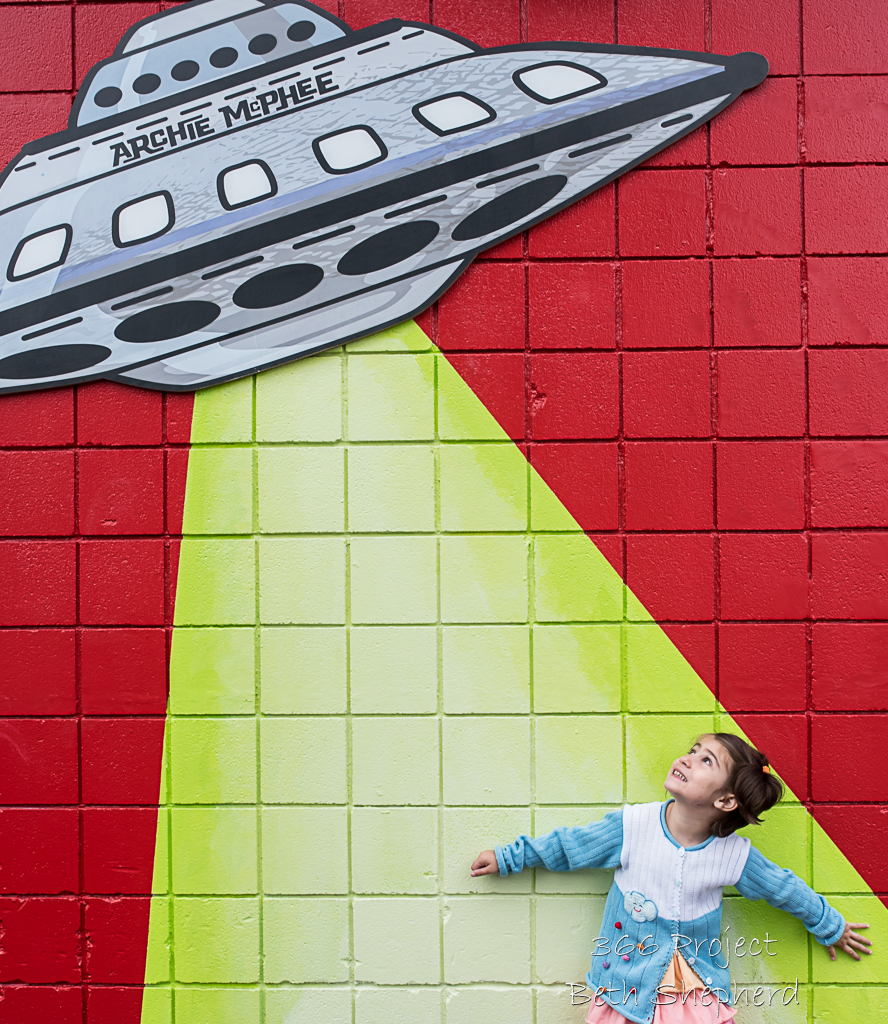 daughter and space ship