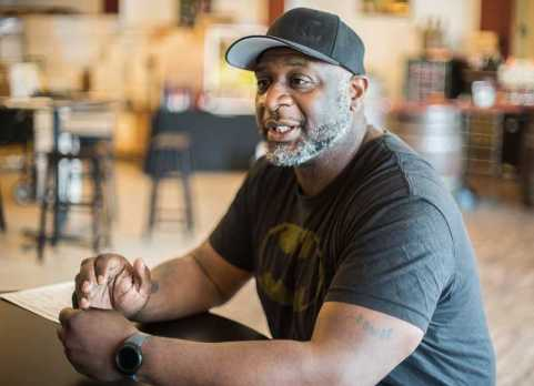 HILLSBORO TRIBUNE PHOTO: CHASE ALLGOOD - Bertony Faustin has big plans for his small winery. He wants to work with inner city youth to get them interested in wine, is taking part in a wine-making reality series and has plans to start a second label soon.