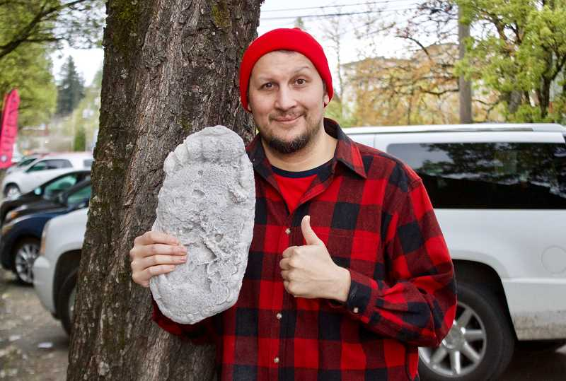 OUTLOOK PHOTO: CHRISTOPHER KEIZUR - Guy Edwards believes the best way to find proof of Bigfoot is through data analysis.