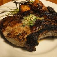 Weber Grilled Berkshire Pork Chops