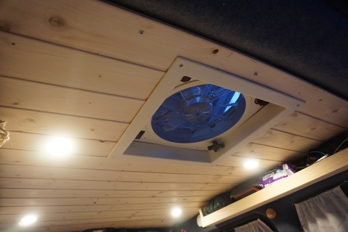 Pamthevan How To Install A Fantastic Fan In Your Van