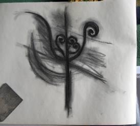 twirly candlestick