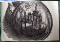 charcoal scribble