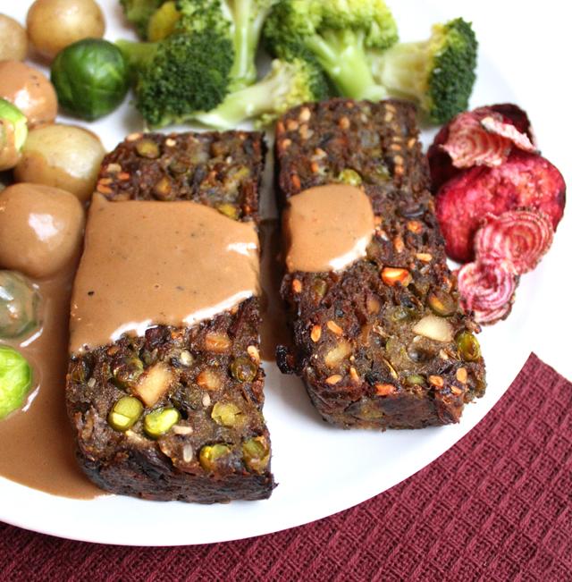 Feststek av sopp og grønne erter er sunt, mettende og lettvint
