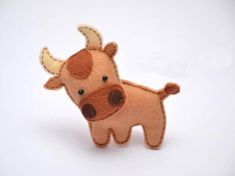 Bull de fieltro 1