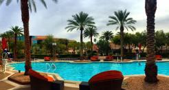 MGM Grand heated swimming pool