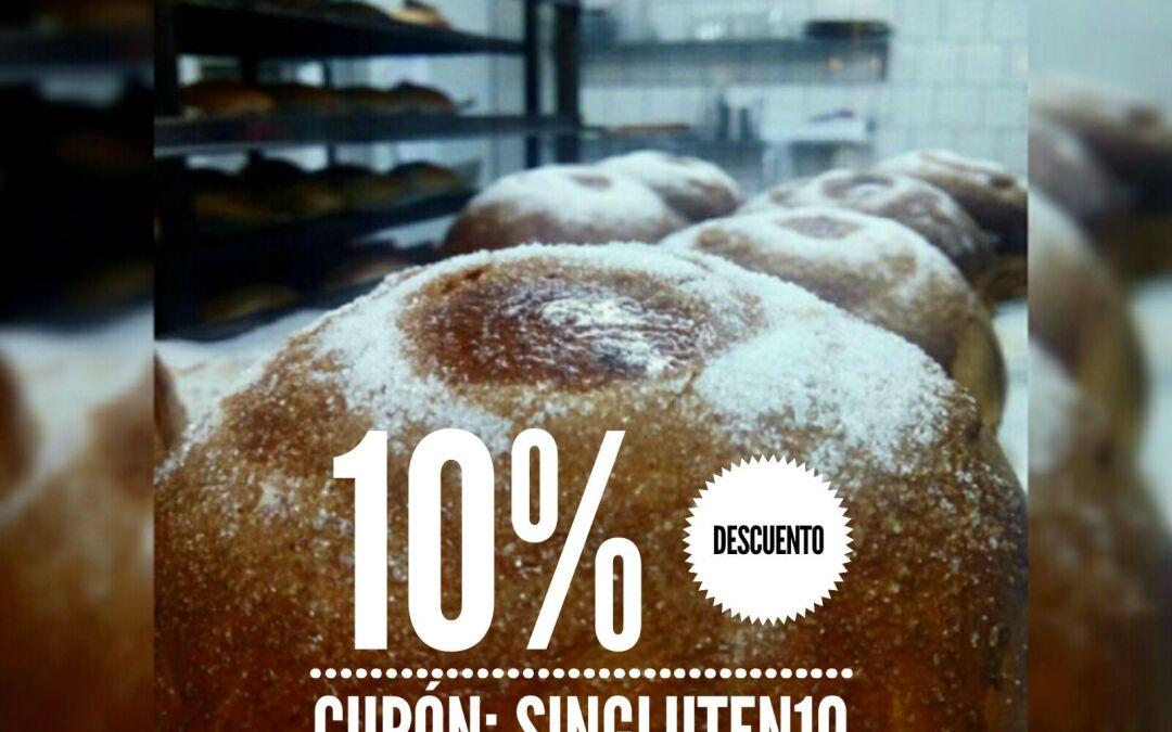 Cupón SinGluten10 -10% Descuento