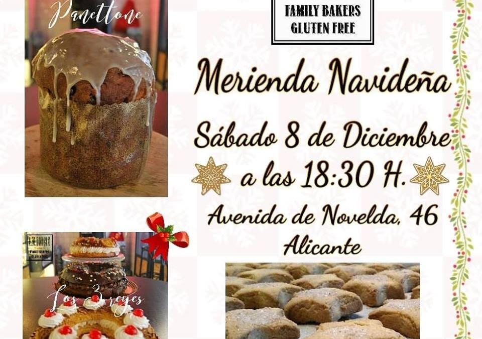 Merienda Navideña 2018 ! Panadería José María García Sin Gluten