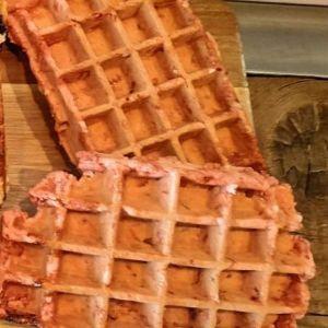 Gofres_redvelvet-sin_gluten-sin_lactosa-www.panaderiajmgarcia.com-panaderia-alicante