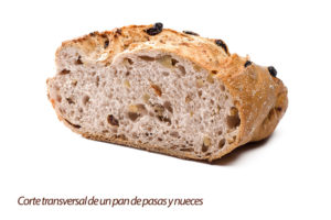 Pan de pasas y nueces