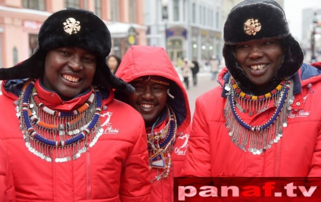 Maasai-In-Russia