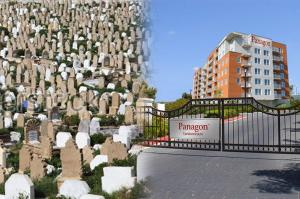 Panagon Building Cemetery Collage