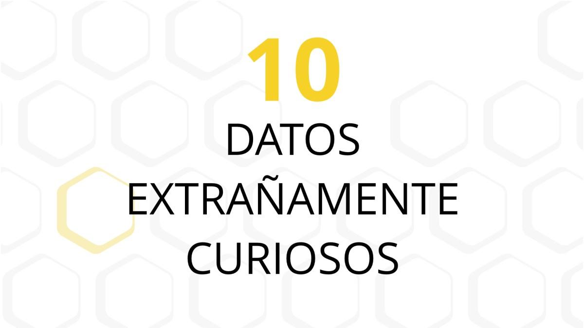 10 Extraños datos curiosos
