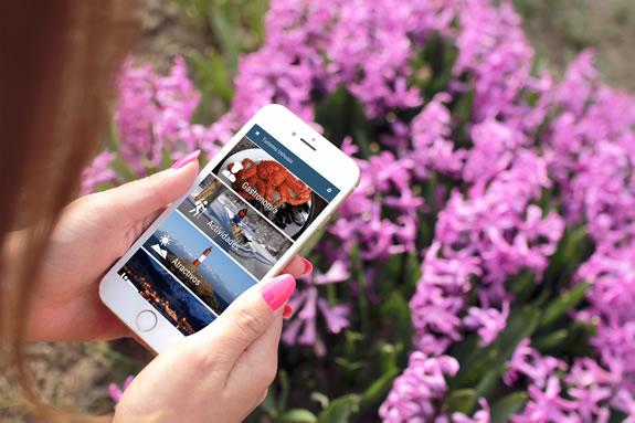 Aplicación de información turística de Ushuaia