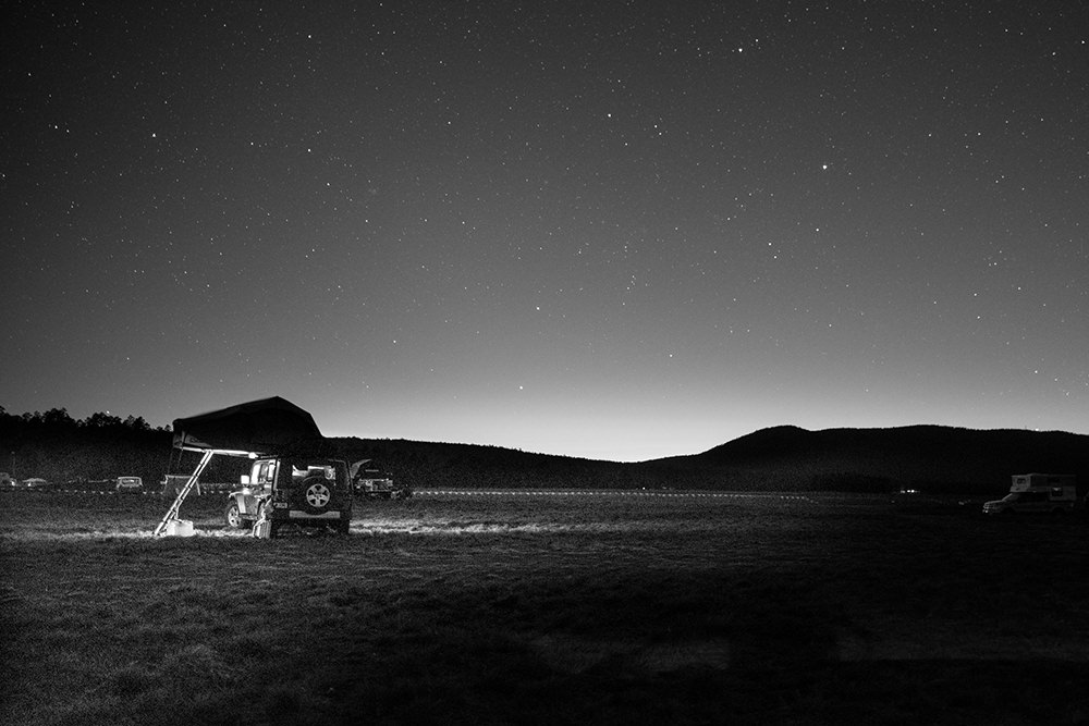 A starry night at Overland Expo 2014