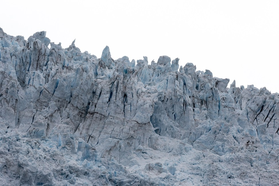The Holgate glacier