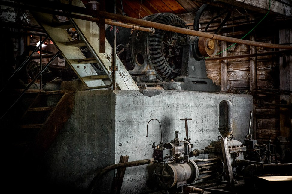 Inside Kennecott Power Plant, Alaska