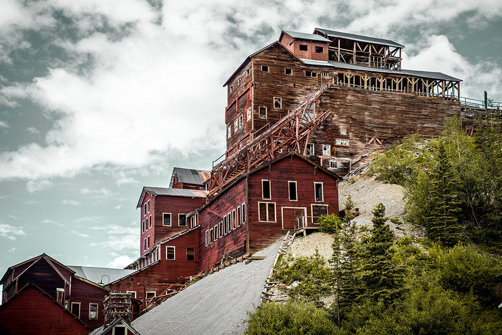 Kennecott Copper Concentration Mill Building, Alaska