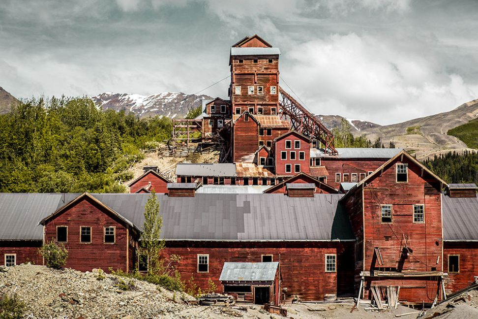 Kennecott Copper Mill Town, Alaska